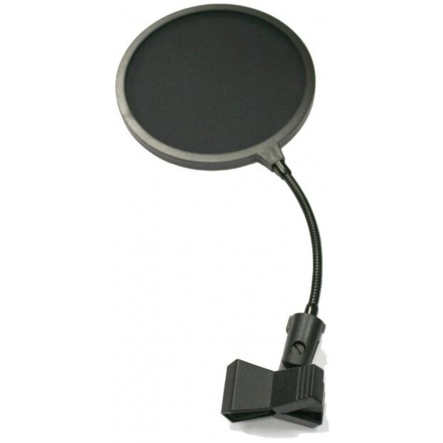 поп фильтр (съемный) в блистере с креплением на микрофонную стойку